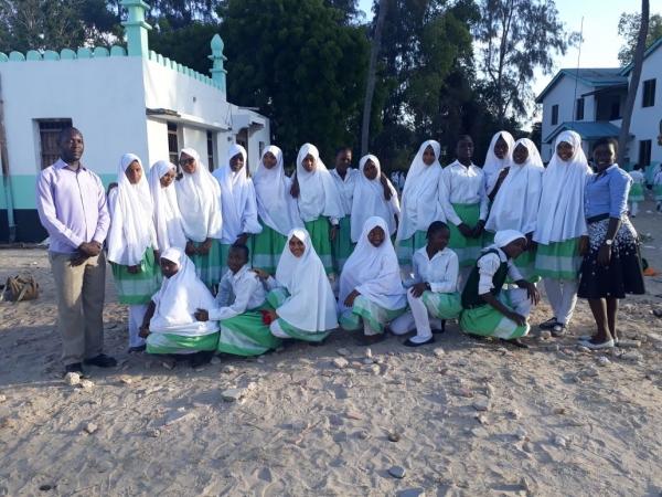 LAMU GIRLS JERUSALEMA CHALLENGE