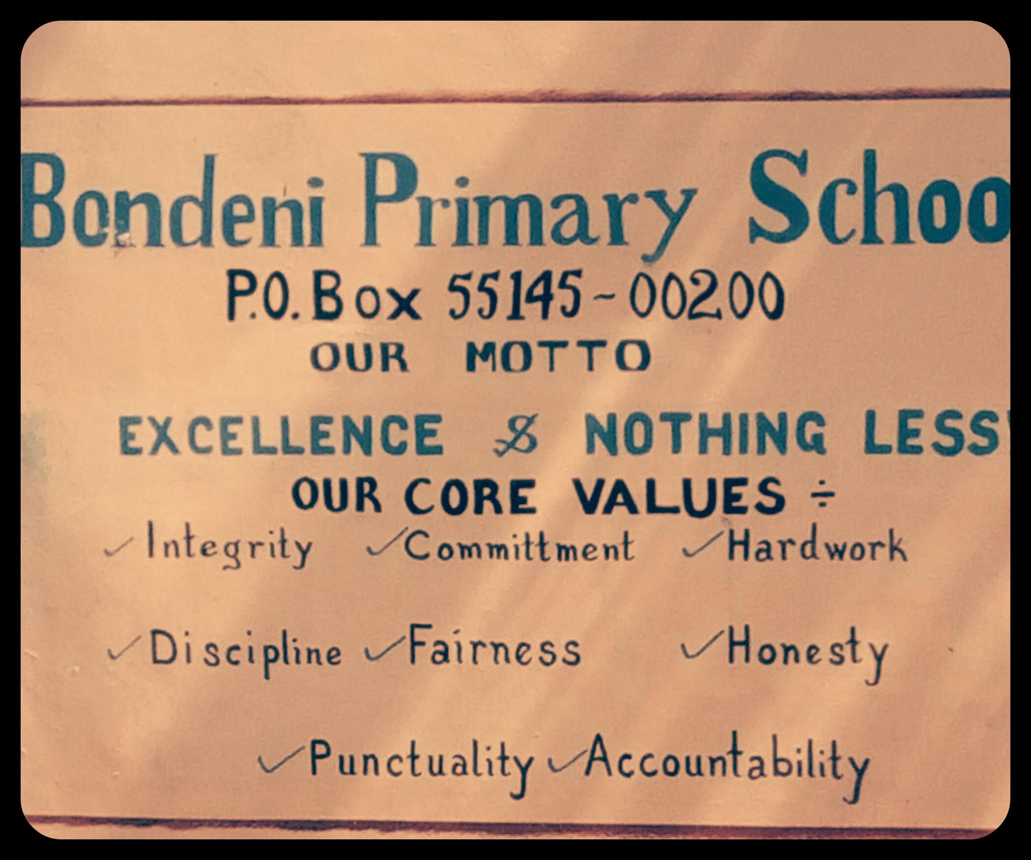 Bondeni Primary School