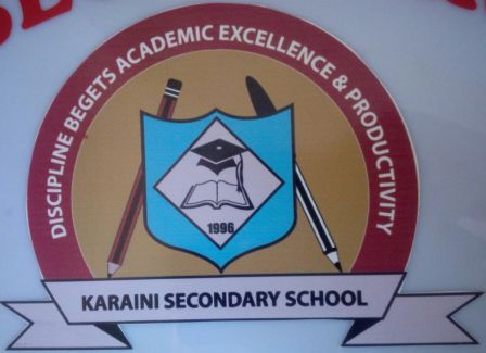 Karaini Secondary School logo